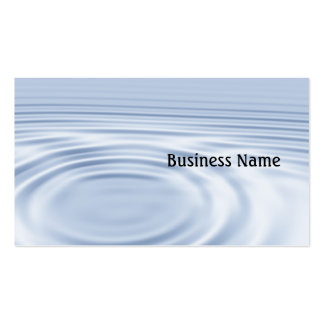 Ripples Pack Of Standard Business Cards
