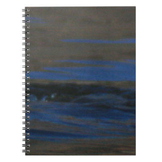 Ripples Spiral Note Book