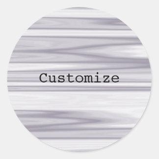 Ripples - Template Classic Round Sticker