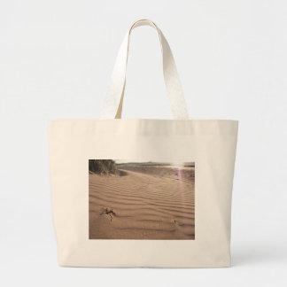 Rippling Sand Canvas Bag