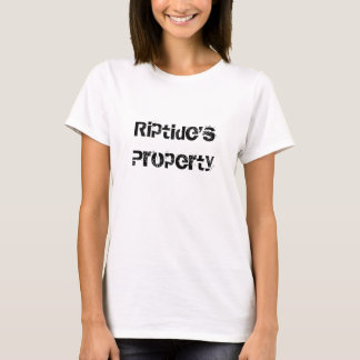 Riptide's Property (w/back design) T-shirt