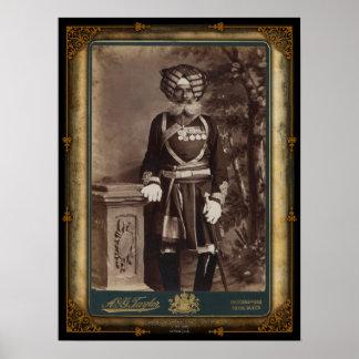 Risaldar Major Sher Singh, 2nd Punjab Cavalry Poster