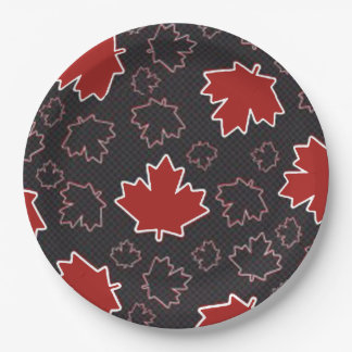 Rise Above Canada Day Party Paper Plates