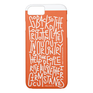 Rise Above Their Circumstances iPhone Case