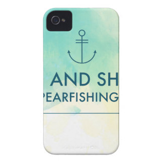 Rise and Shine It's Spearfishing Time Case-Mate iPhone 4 Case