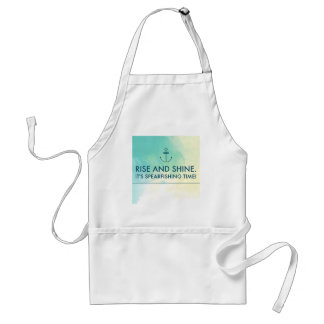Rise and Shine It's Spearfishing Time Standard Apron