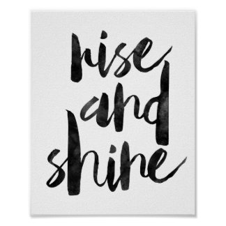 Rise And Shine Poster