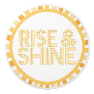 Rise and Shine Sunshine Knob Bathroom Morning