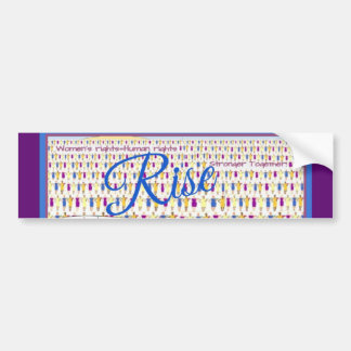 Rise Bumper Sticker