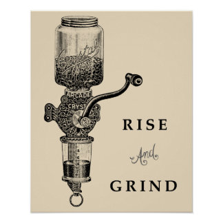 RISE & GRIND POSTER