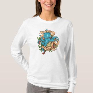 Rise of Kraken Monster Octopus T-Shirt