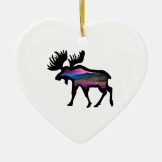Rise of the Horizon Ceramic Heart Decoration