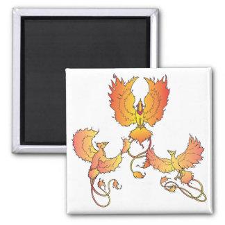 rise of the phoenix fridge magnet