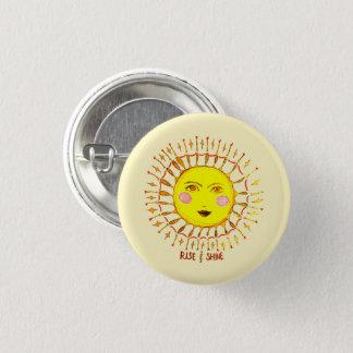 Rise & Shine 3 Cm Round Badge