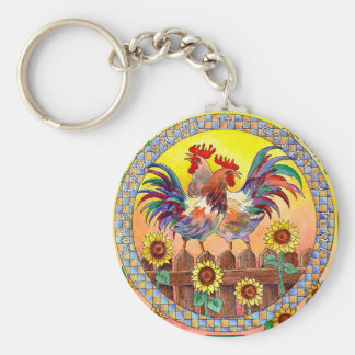 RISE & SHINE by SHARON SHARPE Key Ring