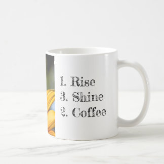 Rise Shine Coffee Sunflower Mug