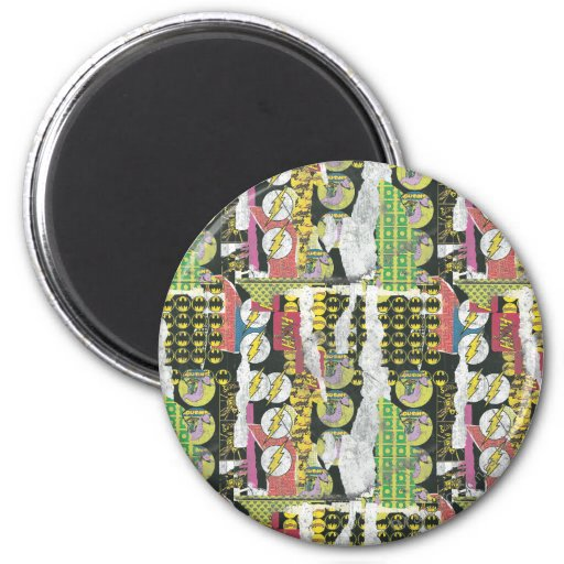 Rise Up Collage Pattern Refrigerator Magnets