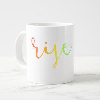Rise Up Rainbow mug