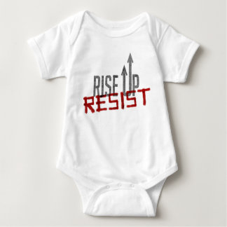 Rise Up, Resist Baby Bodysuit