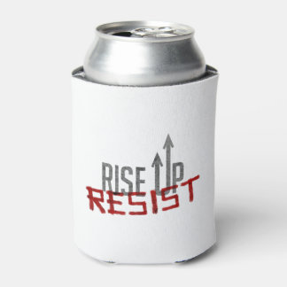 Rise Up, Resist Can Cooler