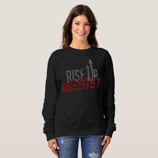 Rise Up, Resist Dark Women's Basic Sweatshirt