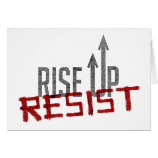 Rise Up, Resist Greeting Card