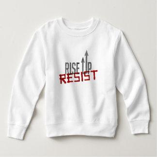 Rise Up, Resist Toddler Sweatshirt