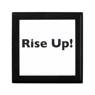 Rise Up! Small Square Gift Box