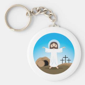 Risen Christ Key Ring