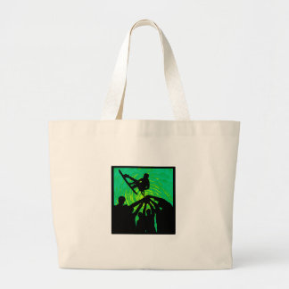 Rising Above Large Tote Bag