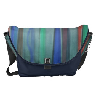 Rising Colors Abstract Large Messenger Bag