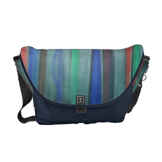 Rising Colors Abstract Messenger Bag