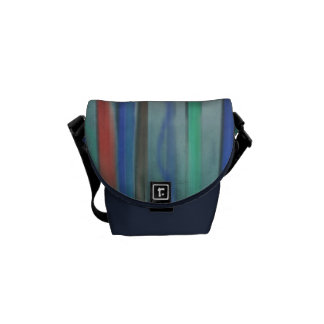 Rising Colors Abstract Mini Messenger Bag