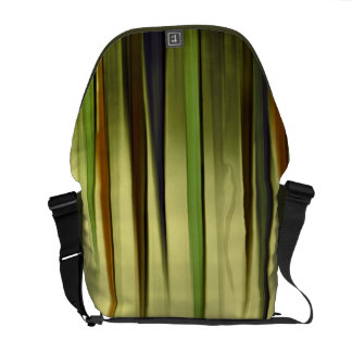Rising Earth Colours Abstract Messenger Bag
