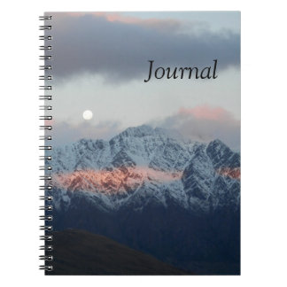 Rising Moon Notebook