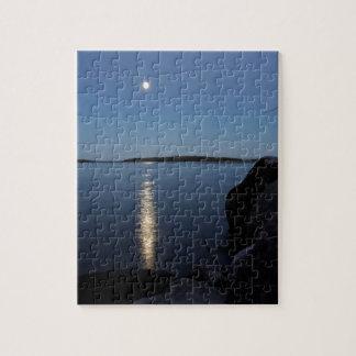 Rising Moon Over Whiskey Bay, St Joseph Island Puzzle