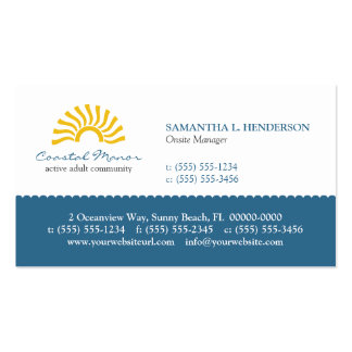 Rising Sun Business Card