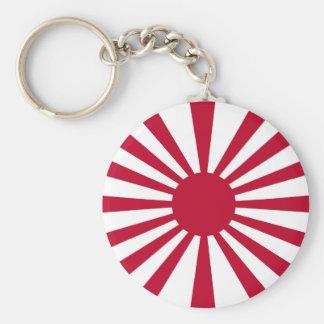 Rising Sun Flag Key Ring