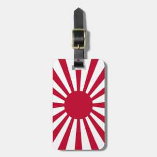 Rising Sun Flag Luggage Tag