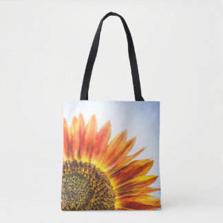 Rising Sunflower Tote Bag