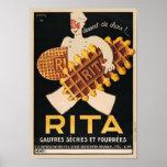 Rita Biscuits Vintage Ad