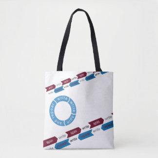 Rite to Write Right Tote Bag