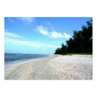 Ritidian Beach - Island of Guam Business Card