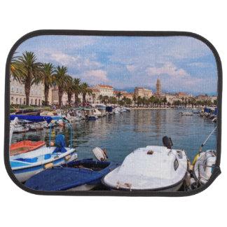 Riva waterfron, Split, Croatia Car Mat