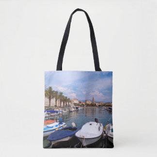 Riva waterfron, Split, Croatia Tote Bag