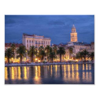 Riva waterfront, Split, Croatia Art Photo