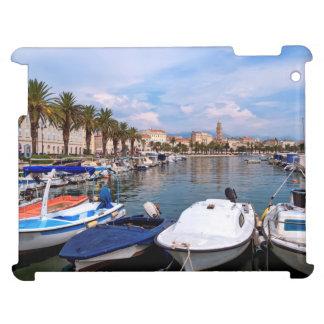 Riva waterfront, Split, Croatia iPad Case