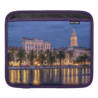 Riva waterfront, Split, Croatia iPad Sleeve