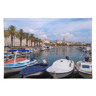 Riva waterfront, Split, Croatia Placemat