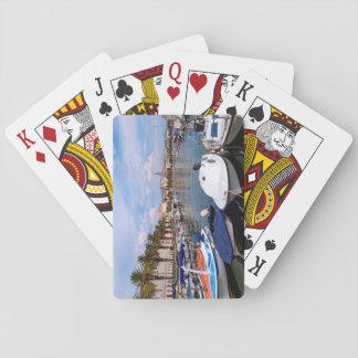 Riva waterfront, Split, Croatia Playing Cards